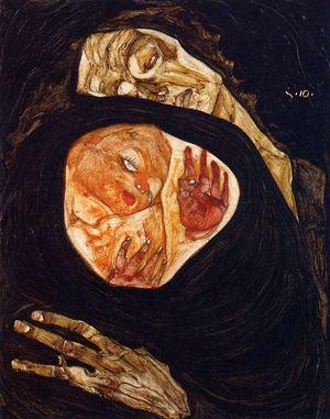 Mère décédée Schiele