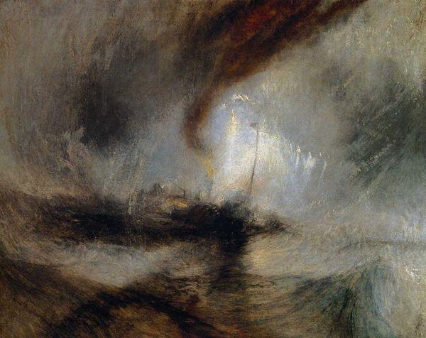 Turner, Tempête de neige