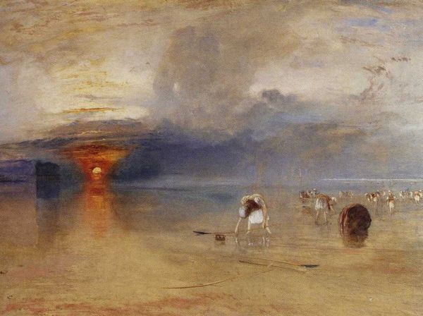 Turner,la plage de Calais