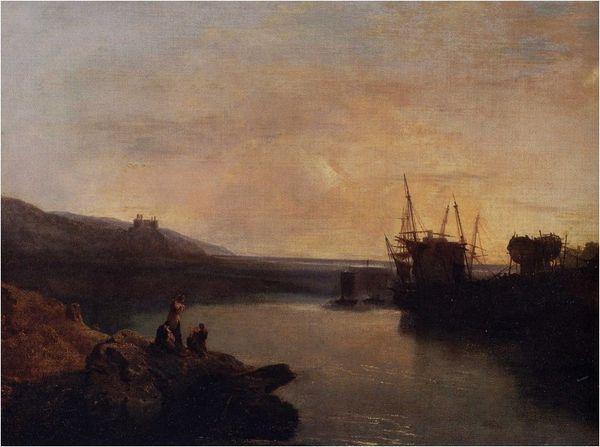 Turner château de Harloch