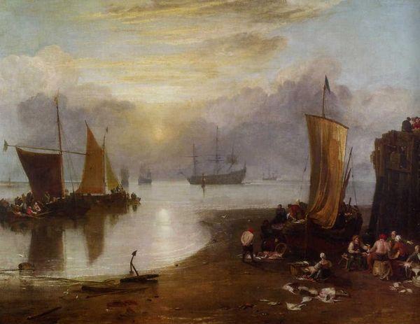 Turner Soleil levant dans la brume
