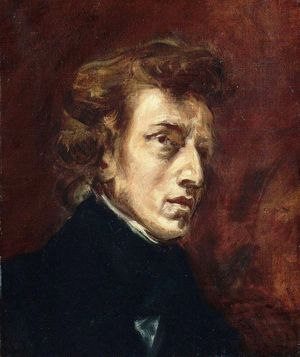 Chopin par Delacroix