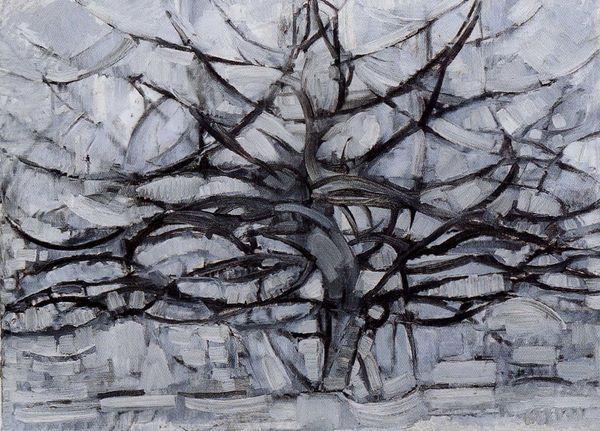 L'arbre gris Mondrian