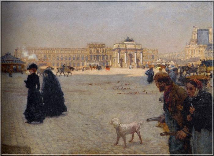 G. de Nittis, place du Carroussel