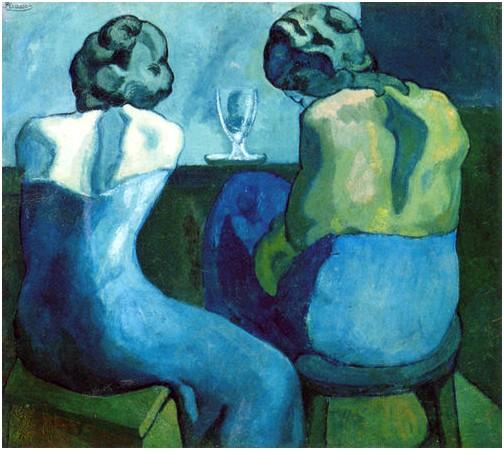 Picasso 2 femmes au bar