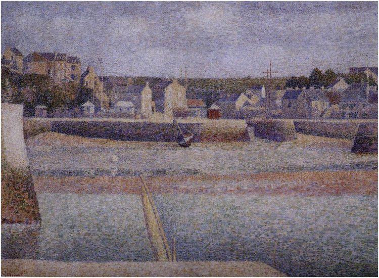 Seurat Port en Bessin