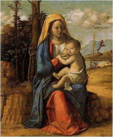 Vierge à l'enfant( Amsterdam)