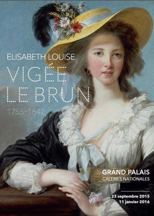Expo affiche Vigée-Le Brun