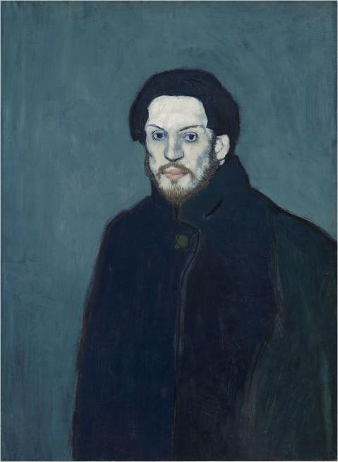 Picasso auto-portrait