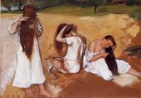 Degas_femmes_se_peignant